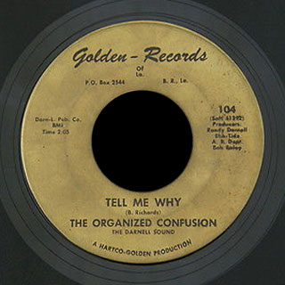 Organized Confusion Golden 45 Tell Me Why
