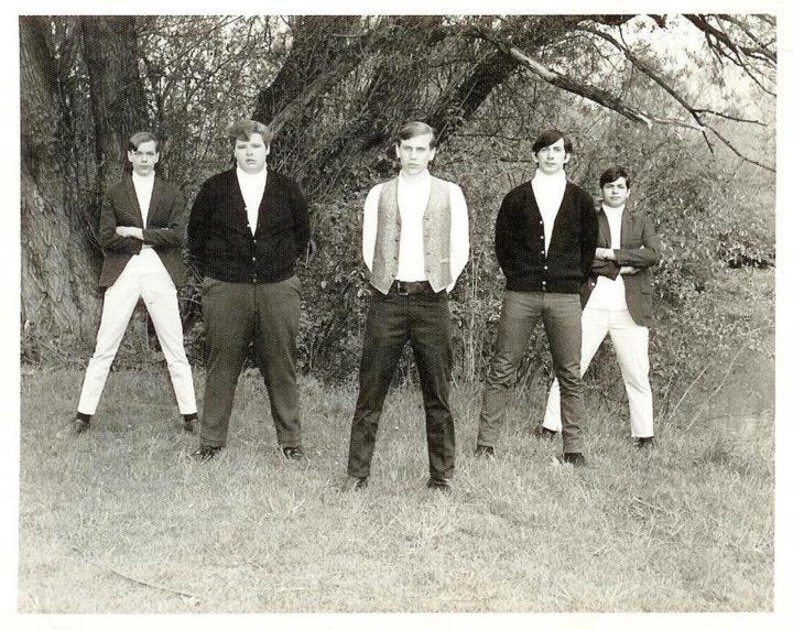 The Organized Confusion, from left: Joe Grabowski, Mark Bruce (friend of band filling in for Matt Sclafani), Dave Thibert, Bill Richards and Al Consiglio
