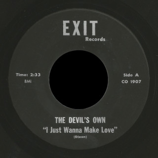 The Devil's Own Exit 45 I Just Wanna Make Love