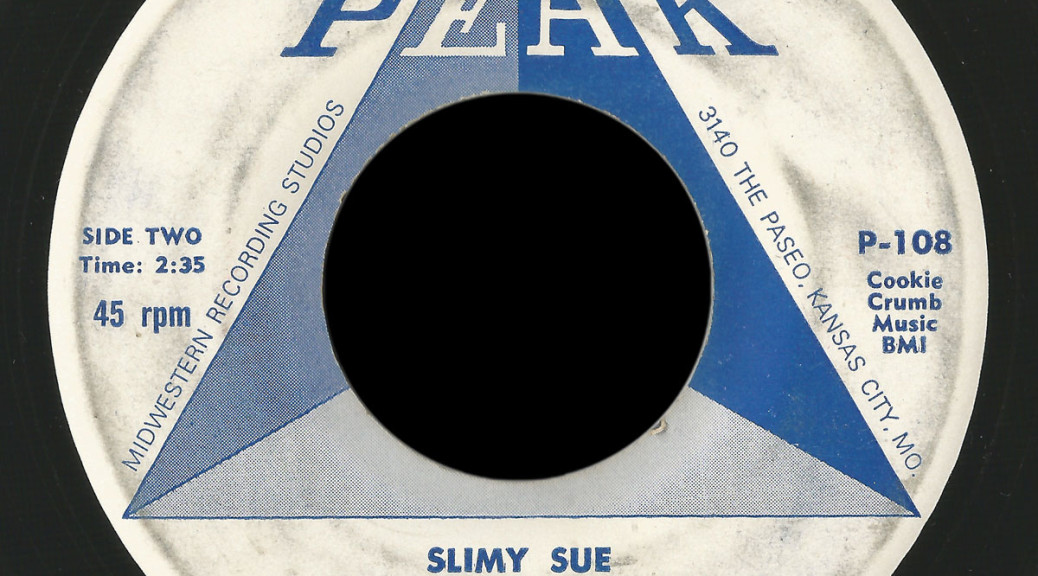 Sounds, Ltd. Peak 45 Slimy Sue