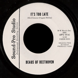 Beaus of Beethoven Sound-Pro Studio 45 It's Too Late