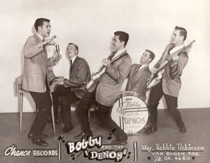 Bobby & the Denos: early 60's promo photo