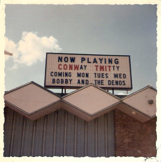 Marquee at The Peppermint Lounge in Bossier City, LA