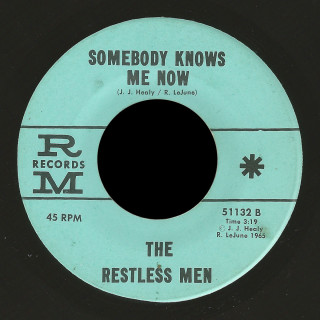 Restless Men RM 45 Somebody Knows Me Now