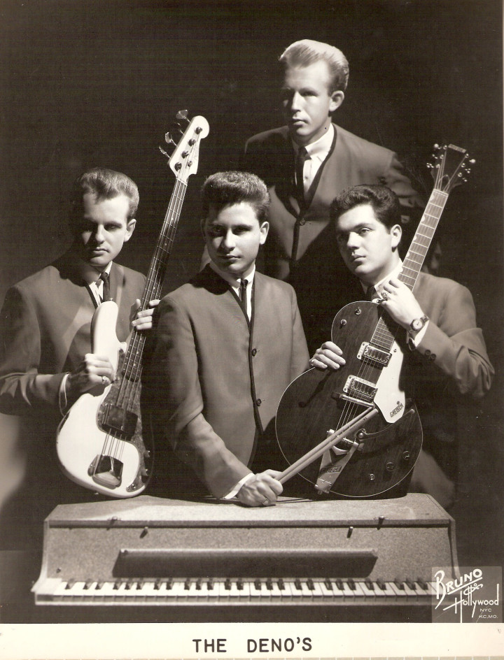 Bobby & The Denos as a four piece in 1962