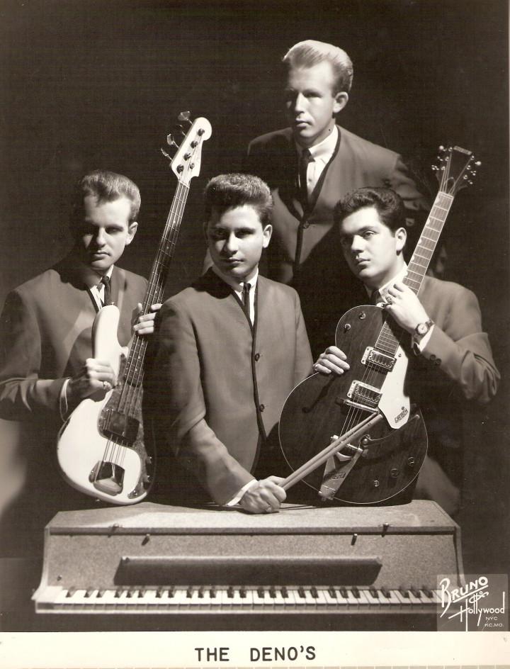 Bobby & The Denos as a four piece in 1962