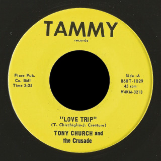 Tony Church and the Crusade Tammy 45 Love Trio