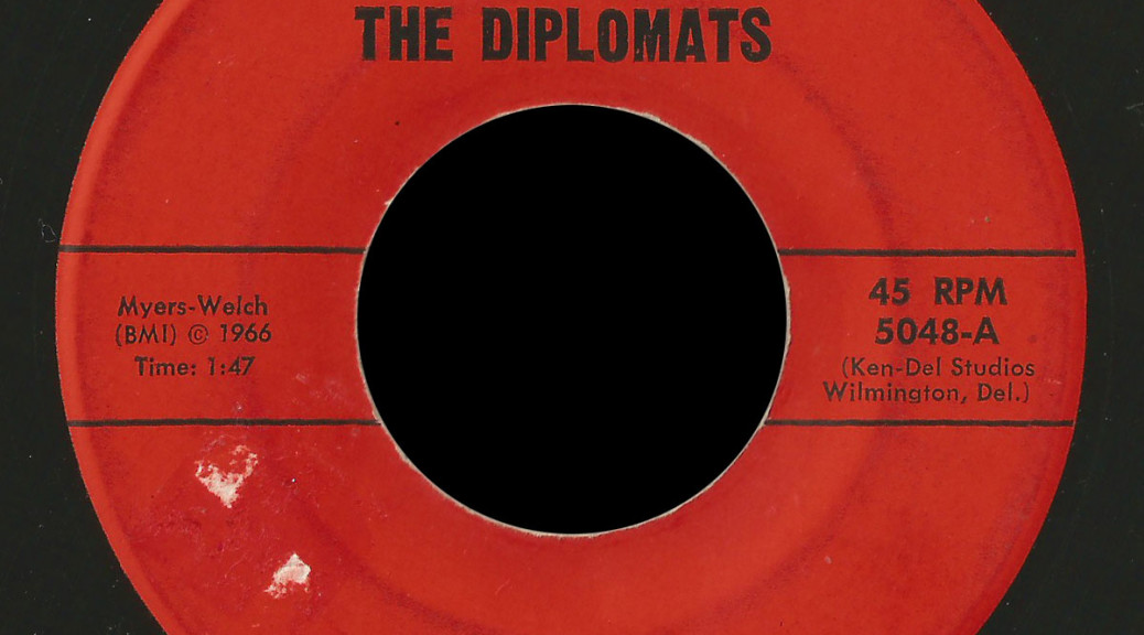 Diplomats Continental 45 I'm Sad