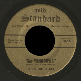 The Shadows Gold Standard 45 She's Like That