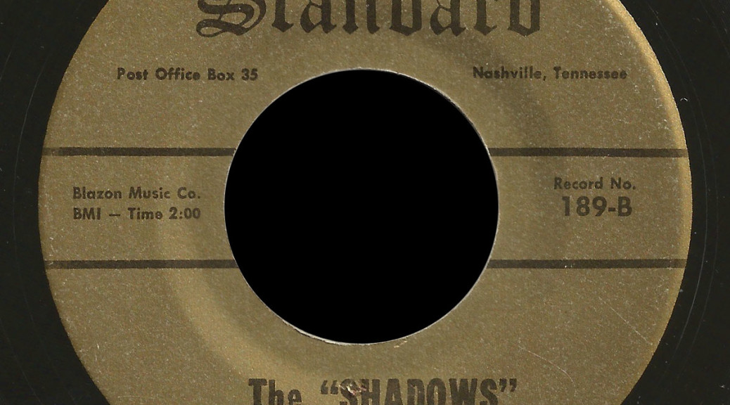 The Shadows Gold Standard 45 Tell Me