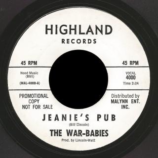 War-Babies Highland 45 Jeanie's Pub
