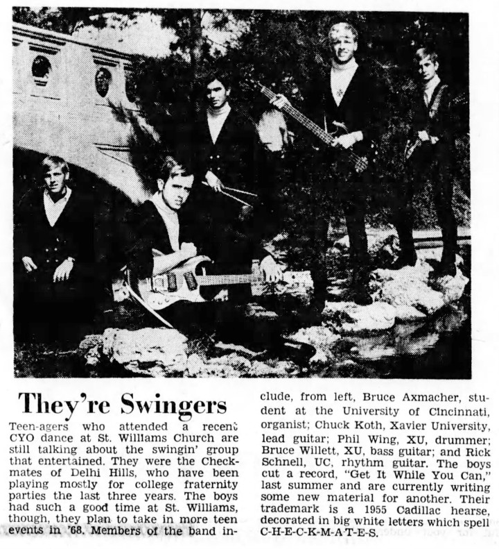 The Checkmates, January 13, 1968