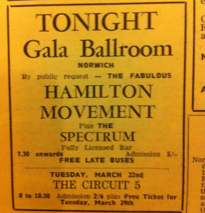 Hamilton 19 March 1966