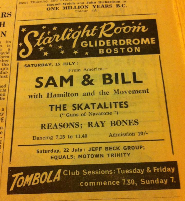 Hamilton July 1967 with Sam and Bill