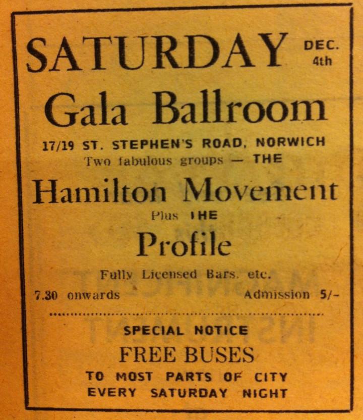 Hamilton Movement Norwich