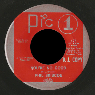 Phil Briscoe And The Sessions Pic 1 45 You're No Good