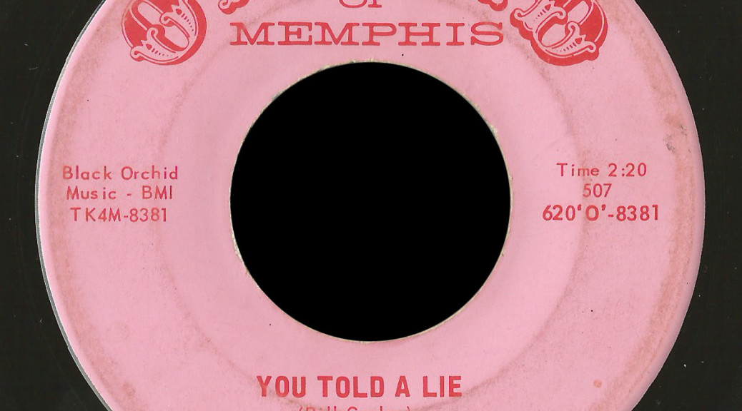 Red Coats Orchid of Memphis 45 You Told a Lie