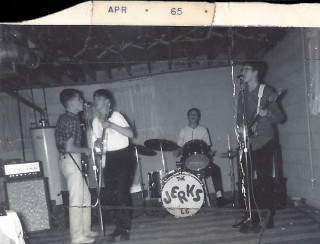 Jerks early photo April 1965