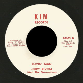 Jerry Rivera and the Generations Kim 45 Lovin' Man