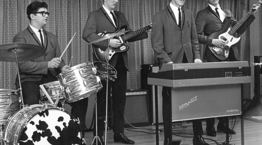 The Shantels, 1966, from left: Terry Williams, Mike Mays, Mike Dektas and JC Ecton