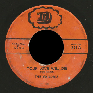 The Vandals D 45 Your Love Will Die