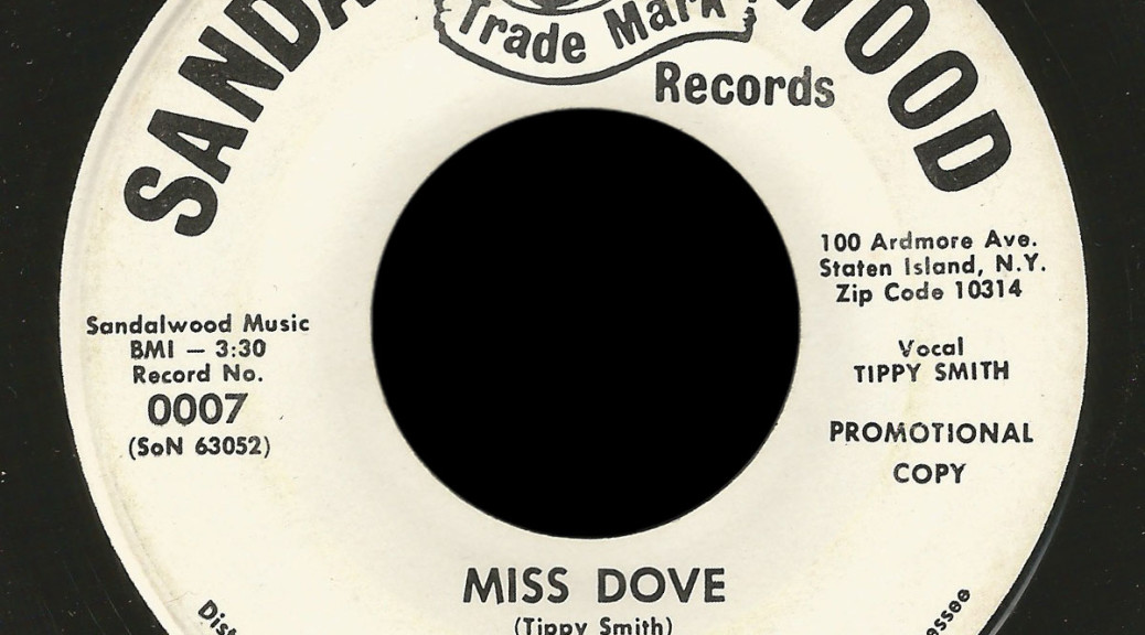Mike Ogilvie and the Blues of Purple Sandle Wood 45 Miss Dove