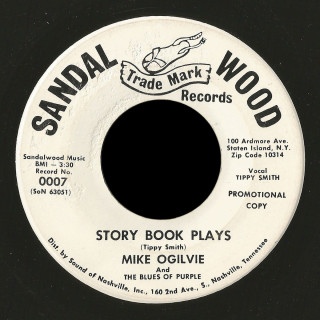 Mike Ogilvie and the Blues of Purple Sandle Wood 45 Story Book Plays