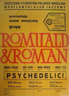 Romuald i Roman Poster