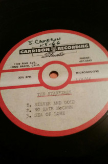 The Starfires Garrison Recording Studio demo, never released