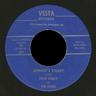 Steve Purdy and the Studs Vesta 45 Johnny's Steady