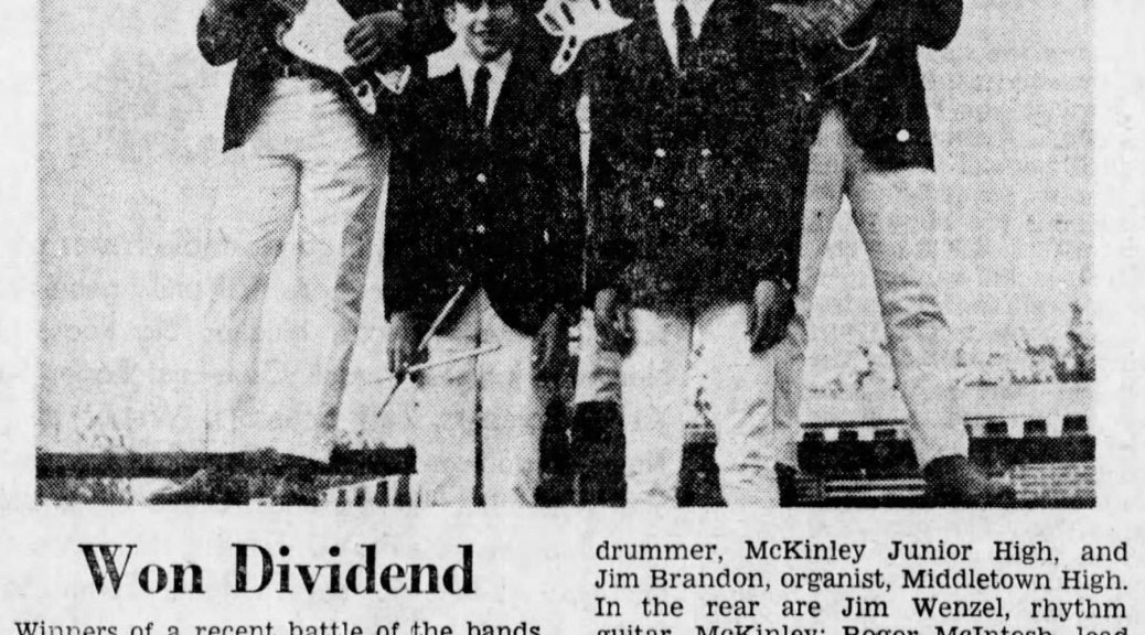 The Cavaliers profile, Cincinnati Enquirer, Saturday Sept. 16, 1967