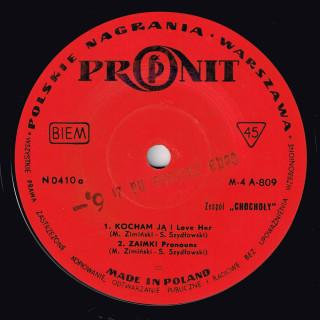 Chochoły Pronit EP side A