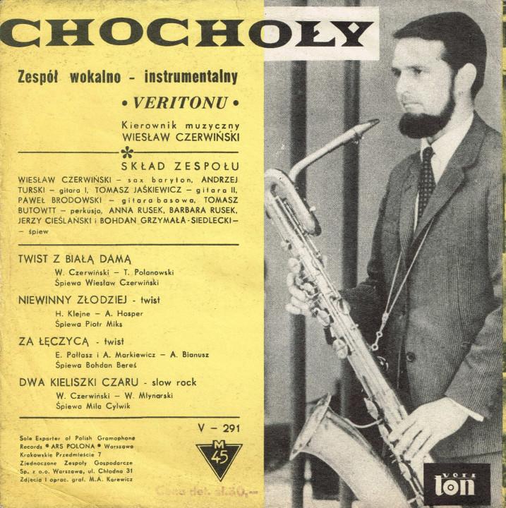 Chochoły Veriton EP back cover