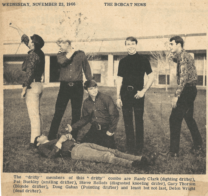 The Haustofs, Bobcat News, Nov. 23, 1966