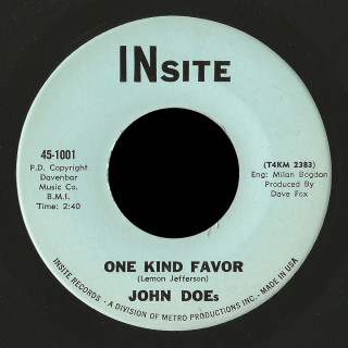 John Does Insite 45 One Kind Favor