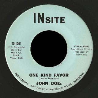 John Does Insite 45 One Kind Favor