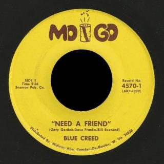 Blue Creed Mo Go 45 Need A Friend