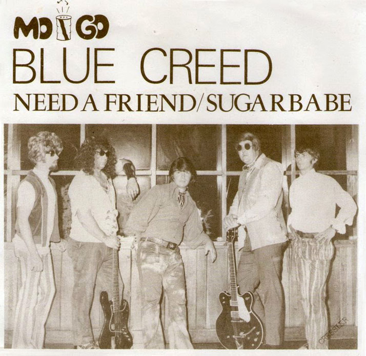 Blue Creed Mo Go PS Need A Friend