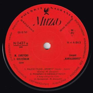 Kawalerowie Muza EP 0437 Side A