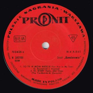 Kawalerowie Pronit EP 0426 side A