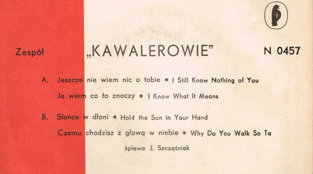 Kawalerowie Pronit EP 0457