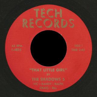 The Shadows 5 Tech 45 That Little Girl