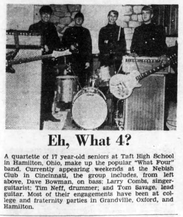 What Four Cincinnati Enquirer. Dec. 31, 1966