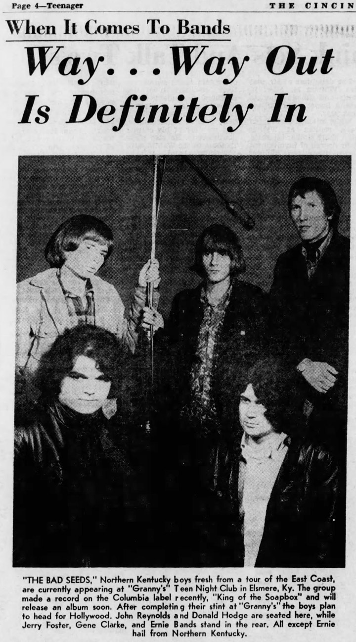 The Bad Seeds of Kentucky, Cincinnati Enquirer January 14, 1967