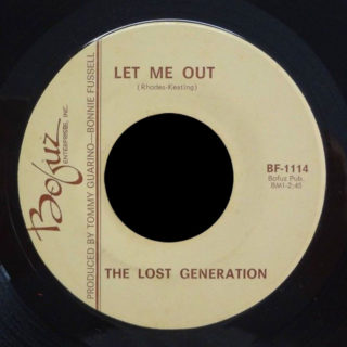 Lost Generation Bofuz 45 Let Me Out