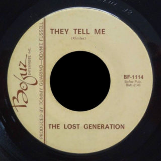 Lost Generation Bofuz 45 They Tell Me