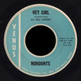 The Nokounts Venus 45 Hey Girl