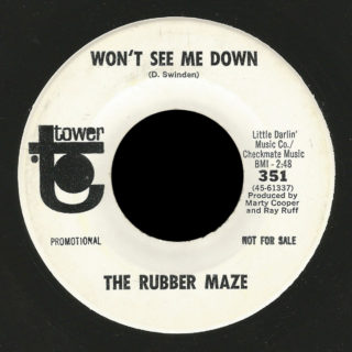 Rubber Maze Tower 45 Won't See Me Down