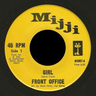 Front Office Mijji 45 Girl