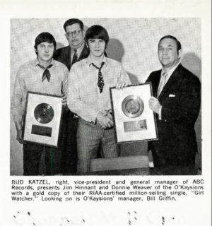 OKaysions Billboard February 22, 1969